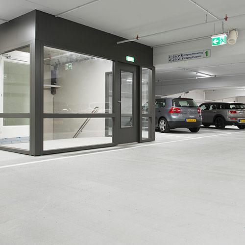 Garage Inner Parkeergarage Heuvelpoort Parkeren Tilburg Centrum